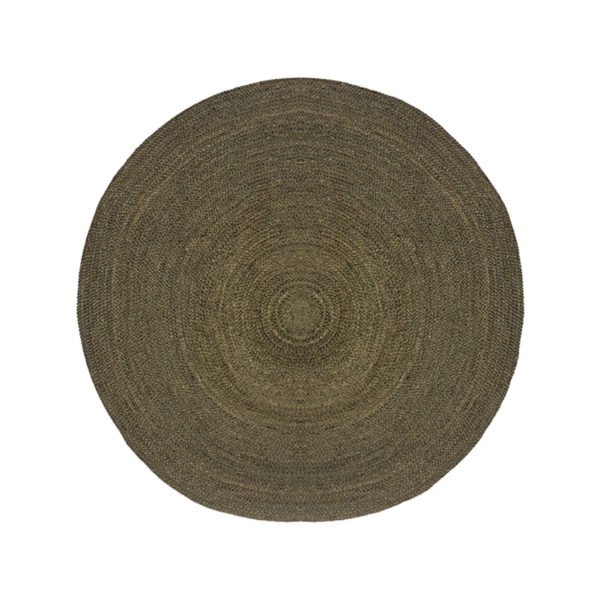 LABEL51 Vloerkleed Jute - Army green - Jute - 150