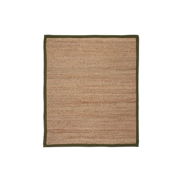 LABEL51 Vloerkleed Jute - Army green - Jute - 140x160 Cm