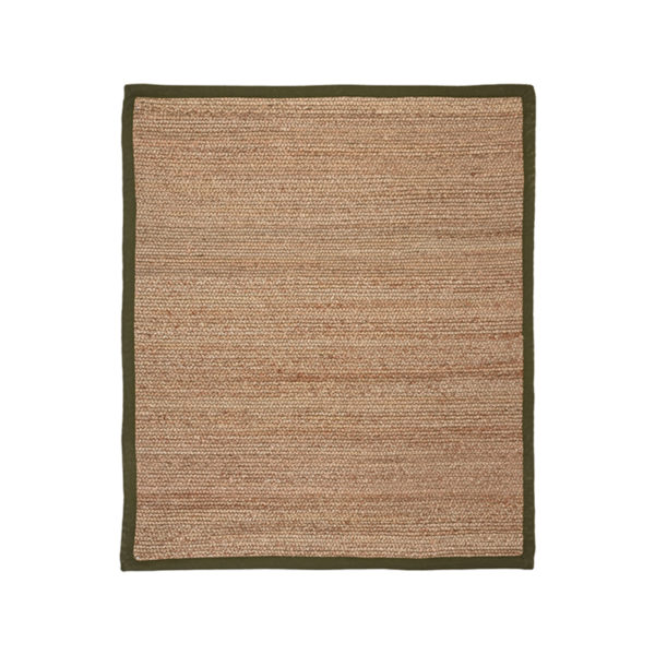 LABEL51 Vloerkleed Jute - Army green - Jute - 160x230 Cm