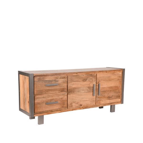 LABEL51 Dressoir Factory - Rough - Mangohout - 180 cm