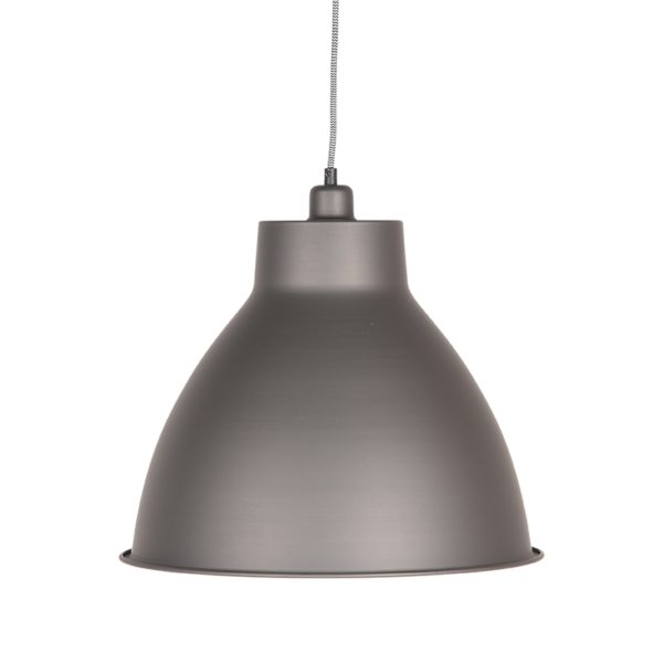 LABEL51 Hanglamp Dome - Metallic Grey - Metaal