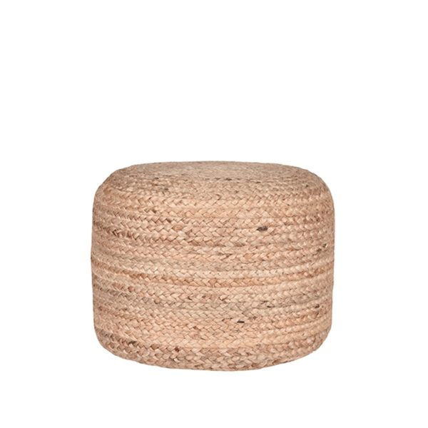 LABEL51 Poef Jute - Naturel - Jute